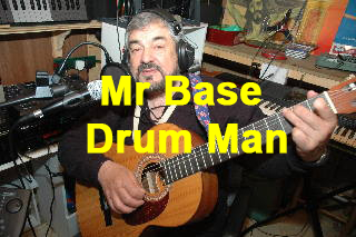 Mr Base Drum Man by Don Crown